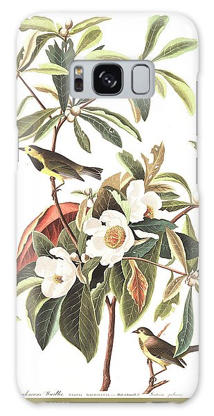 Bachman's Warbler  Galaxy Case by John James Audubon