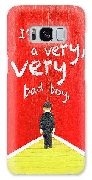 Bad Boy Greeting Card Galaxy Case