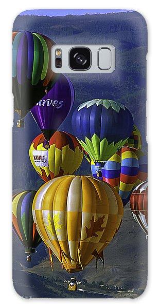 Balloons Over Reno Galaxy Case