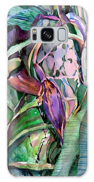 Banana Pod Galaxy Case by Mindy Newman