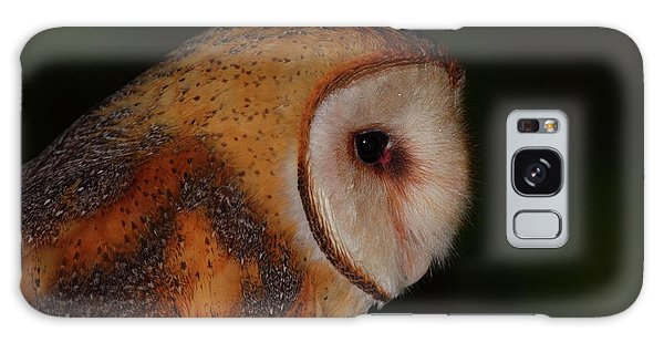 Barn Owl Profile Galaxy Case