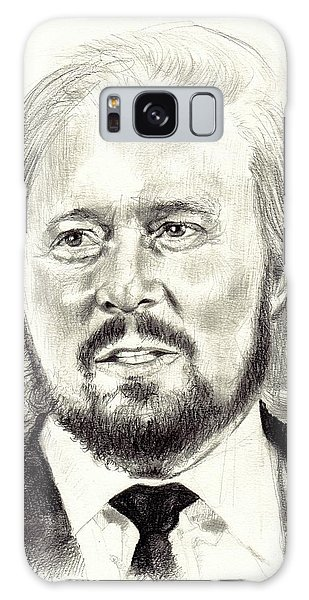 Rolling Stone Magazine Galaxy S8 Case - Barry Gibb Portrait by Suzann's Art