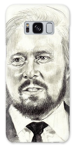 Record Galaxy Case - Barry Gibb Portrait by Suzann Sines