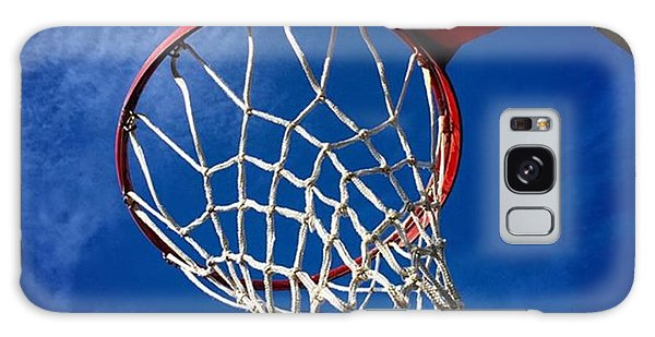 Sports Galaxy Case - Basketball Hoop #juansilvaphotos by Juan Silva