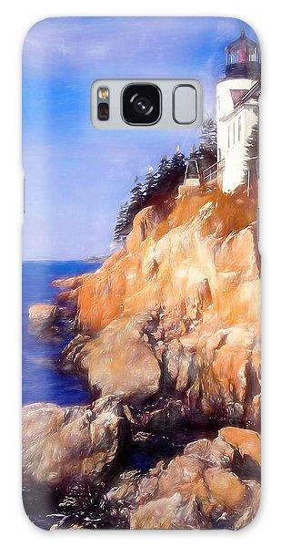 Bass Harbor Lighthouse,acadia Nat. Park Maine. Galaxy Case