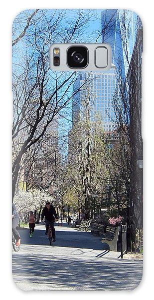 Battery Park City Ny Galaxy Case