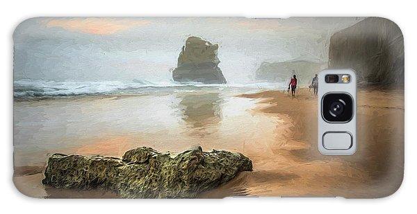 Beach Stroll Galaxy Case