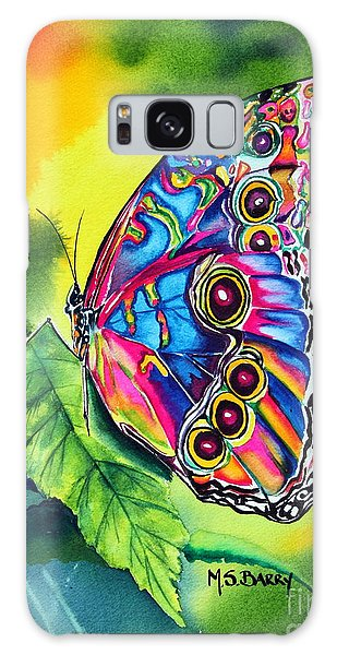 Beatrice Butterfly Galaxy Case by Maria Barry