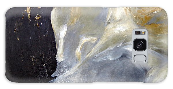 Beauty For Ashes Galaxy Case by Dina Dargo