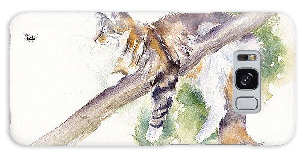 Calico Cat Galaxy Case - Bee High by Debra Hall