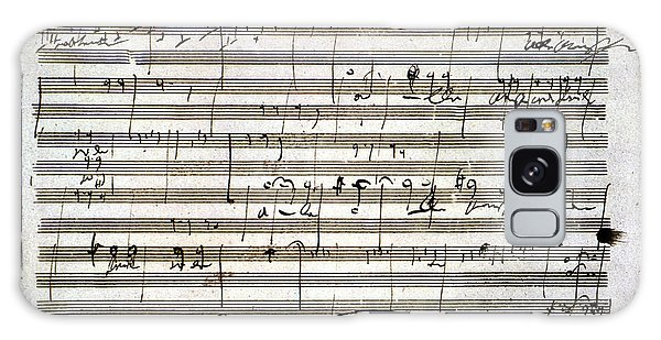 Beethoven Manuscript Galaxy Case