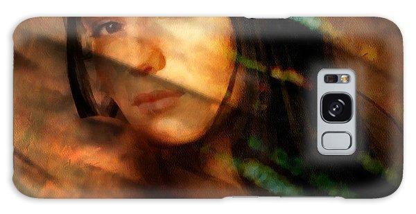 Behind The Curtain Galaxy Case by Gun Legler