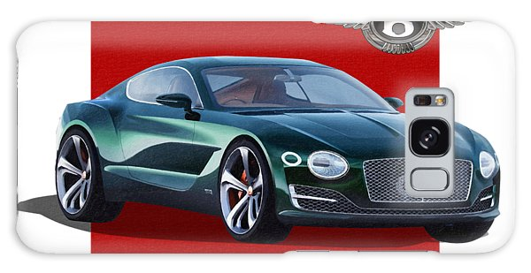 Automotive Galaxy Case - Bentley E X P  10 Speed 6 With  3 D  Badge  by Serge Averbukh