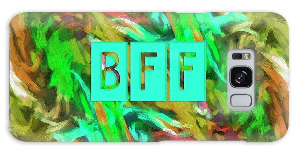 Best Friends Forever Galaxy Case by Bonnie Bruno
