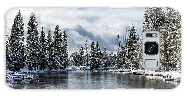 Big Springs In Winter Idaho Journey Landscape Photography By Kaylyn Franks Galaxy Case