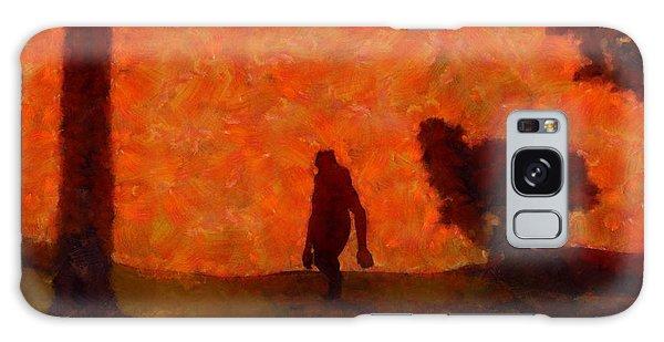 Strange Galaxy Case - Bigfoot Alone by Esoterica Art Agency