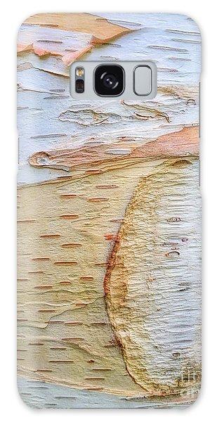 Birch Tree Bark Galaxy Case by Todd Breitling