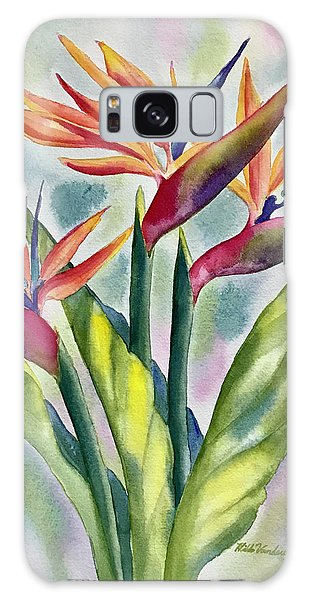Bird Of Paradise Flowers Galaxy Case