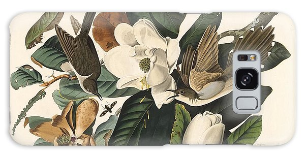 Cuckoo Galaxy Case - Black-billed Cuckoo by Dreyer Wildlife Print Collections