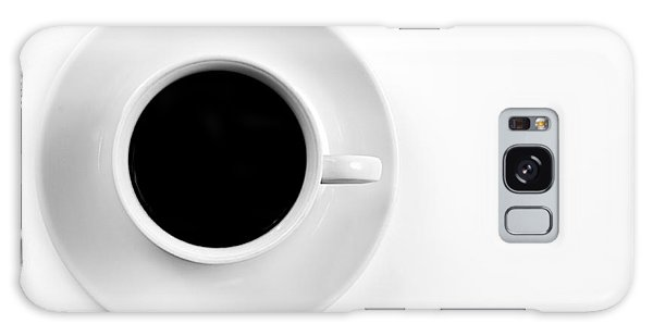 Black Coffee Galaxy Case by Gert Lavsen