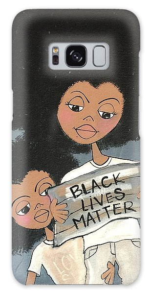 Black Lives Matter Galaxy Case