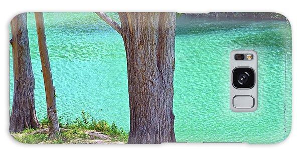 Blanco River Texas Galaxy Case by Ray Shrewsberry