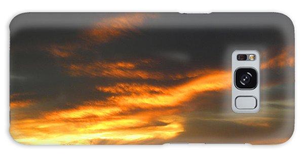 Blazing Carolina Sunset Galaxy Case