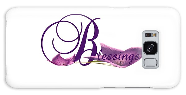 Blessings Galaxy Case