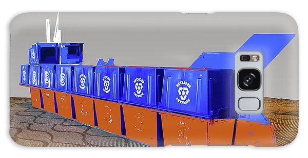 Blue Box Oil Tanker Galaxy Case