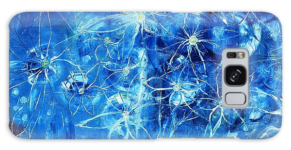 Blue Design Galaxy Case