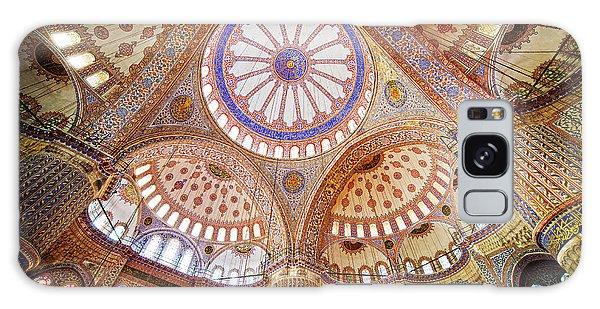 Blue Mosque Interior Galaxy Case