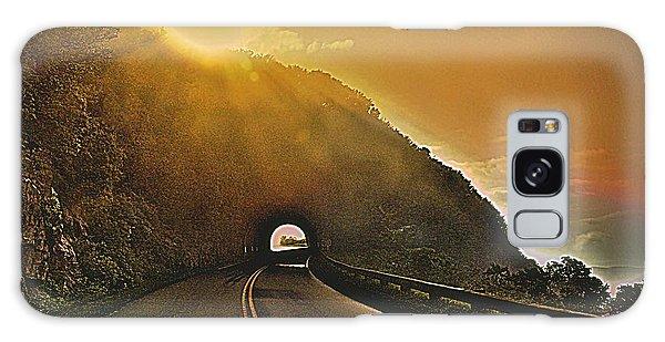 Blue Ridge Parkway Galaxy Case by Janice Spivey
