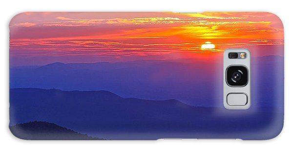 Blue Ridge Parkway Sunset, Va Galaxy Case
