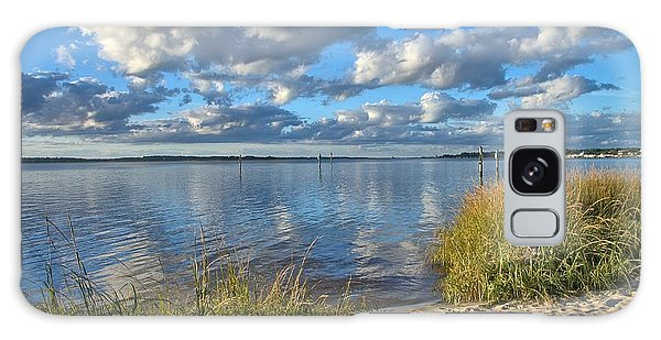 Blues Skies Of The Cape Fear River Galaxy Case