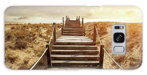 Handrail Galaxy Case - Boardwalk by Carlos Caetano