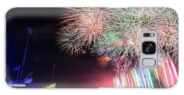 Fireworks Galaxy Case - Boathouse Fireworks by Ricky Barnard