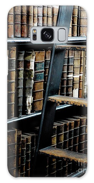 Books Of Knowledge 7 Galaxy Case by Lexa Harpell