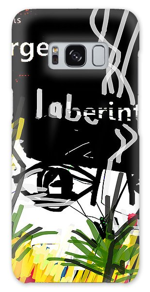 Borges' Labyrinths Poster Galaxy Case