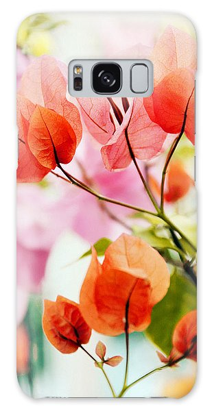 Galaxy Case featuring the photograph Bougainvillea by Jessica Jenney