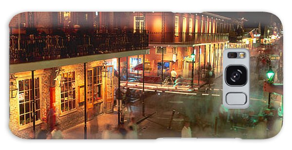 Handrail Galaxy Case - Bourbon Street, French Quarter, New by Panoramic Images