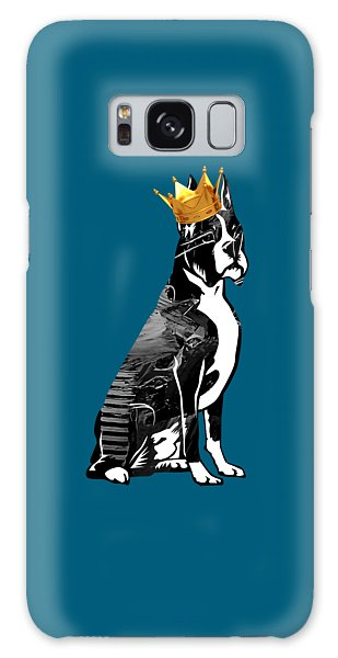 Boxer With Crown Collection Galaxy Case