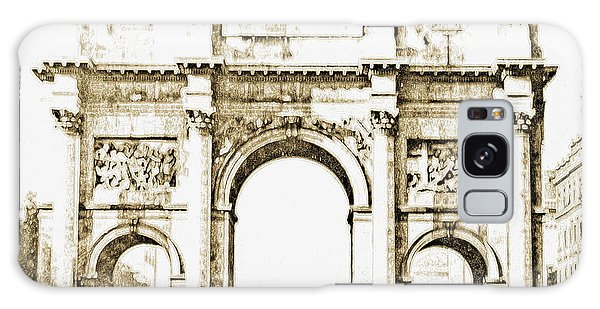 Galaxy Case - Brandenburg Gate, Berlin Germany, 1903, Vintage Image by A Gurmankin