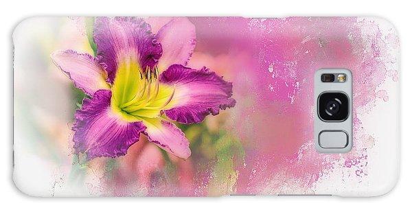 Bright Lily Galaxy Case