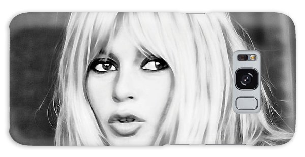 Brigitte Bardot Collection Galaxy Case by Marvin Blaine