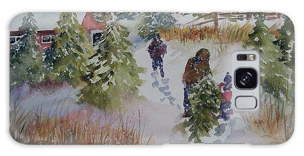 Bringing In The Tree Galaxy Case by Sandra Strohschein