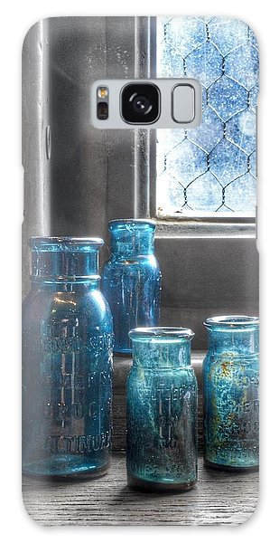Bromo Seltzer Vintage Glass Bottles Galaxy Case