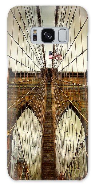 Brooklyn Bridge Twilight Galaxy Case by Jessica Jenney