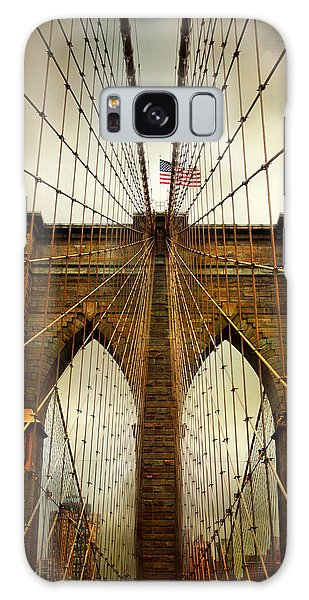 Brooklyn Bridge Twilight Galaxy Case