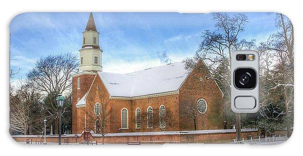Bruton Parish In Winter II Galaxy Case