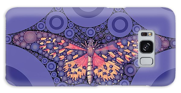 Majestic Galaxy Case - Bubble Art Butterfly by John Springfield